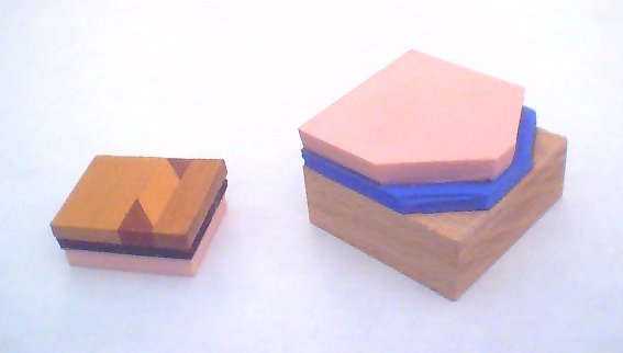 Assembling A Rubber Stamp Blank